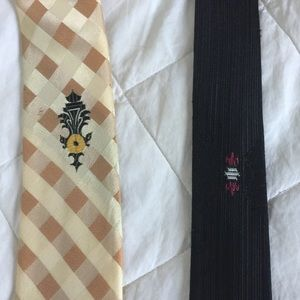 Other - Mens Vintage retro thin ties